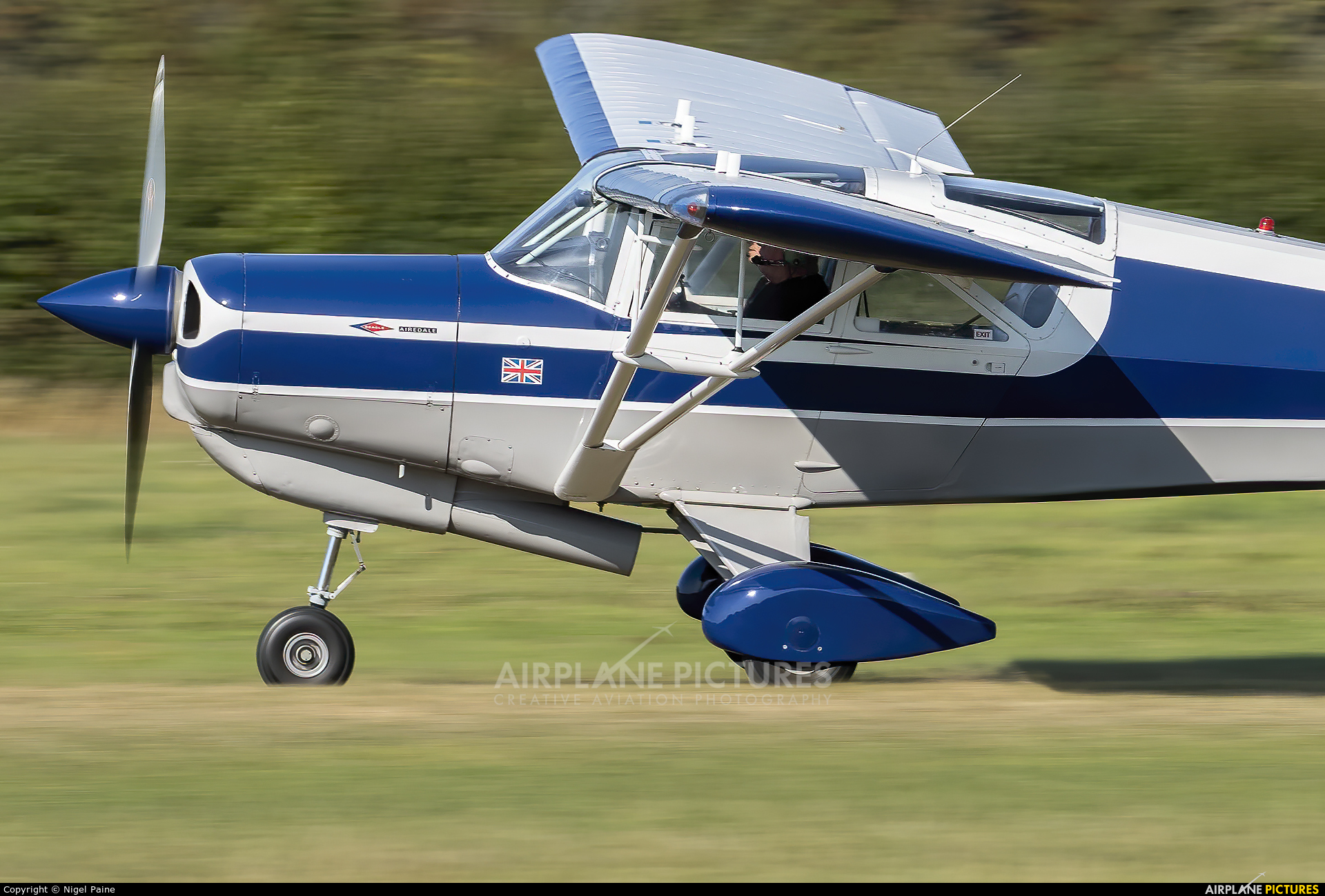 Private G-ASRK aircraft at Lashenden / Headcorn