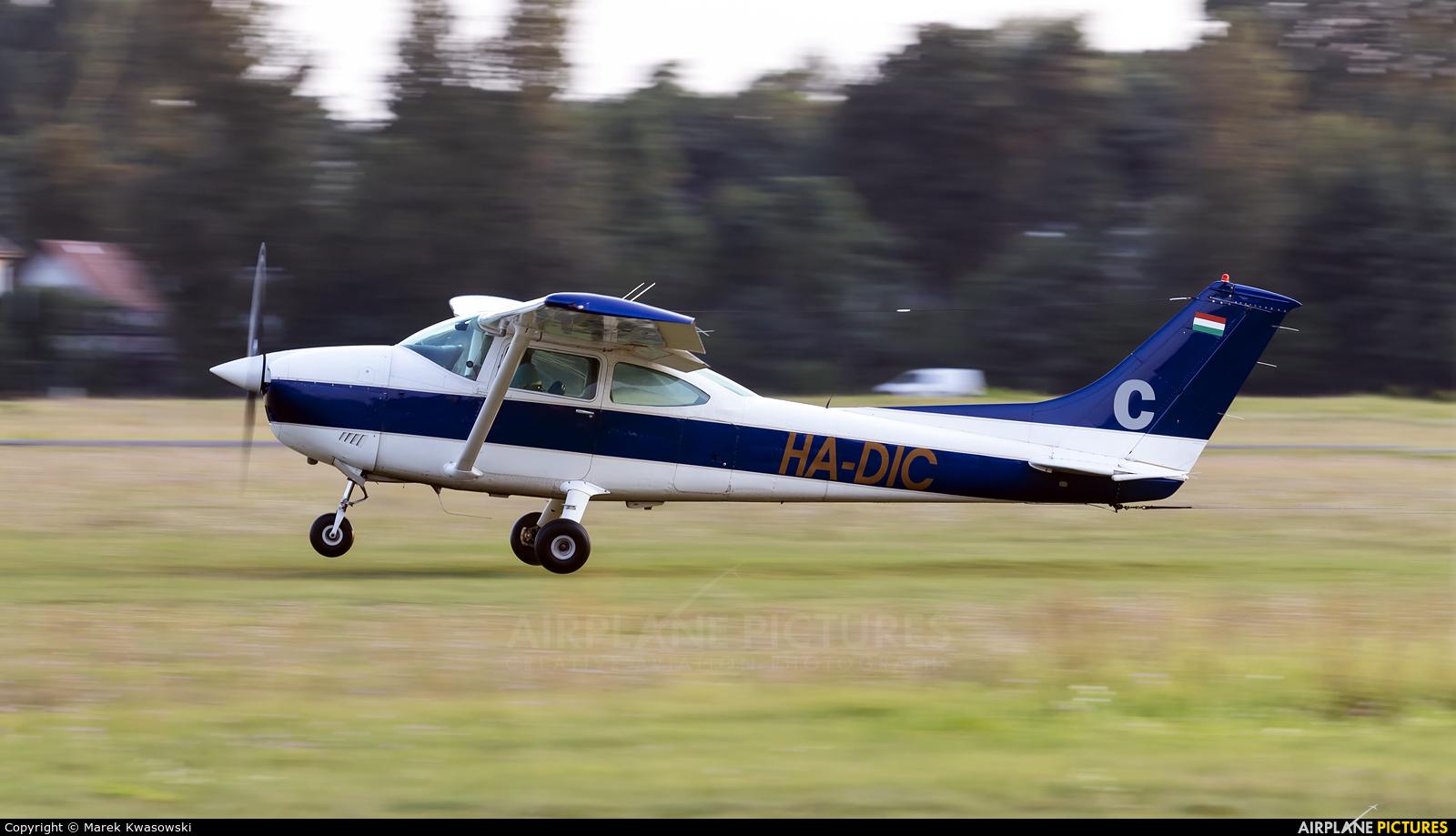 Private HA-DIC aircraft at Warsaw - Babice