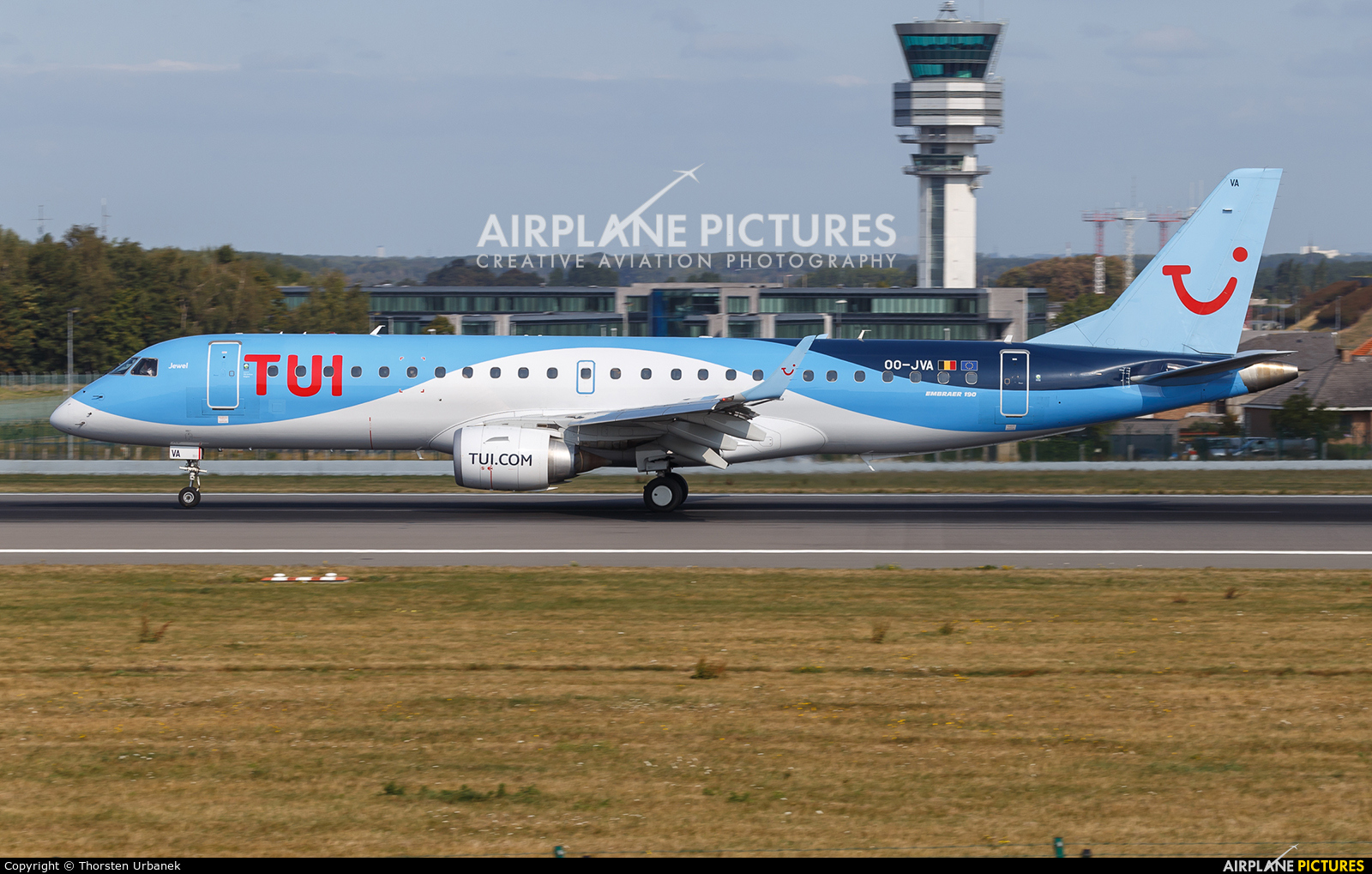 TUI Airlines Belgium OO-JVA aircraft at Brussels - Zaventem