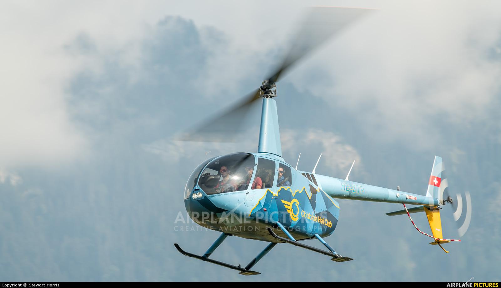 Chablais Heli Club HB-ZTP aircraft at Bex
