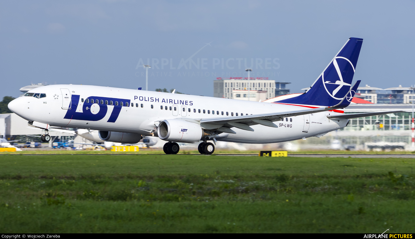 LOT - Polish Airlines SP-LWG aircraft at Warsaw - Frederic Chopin