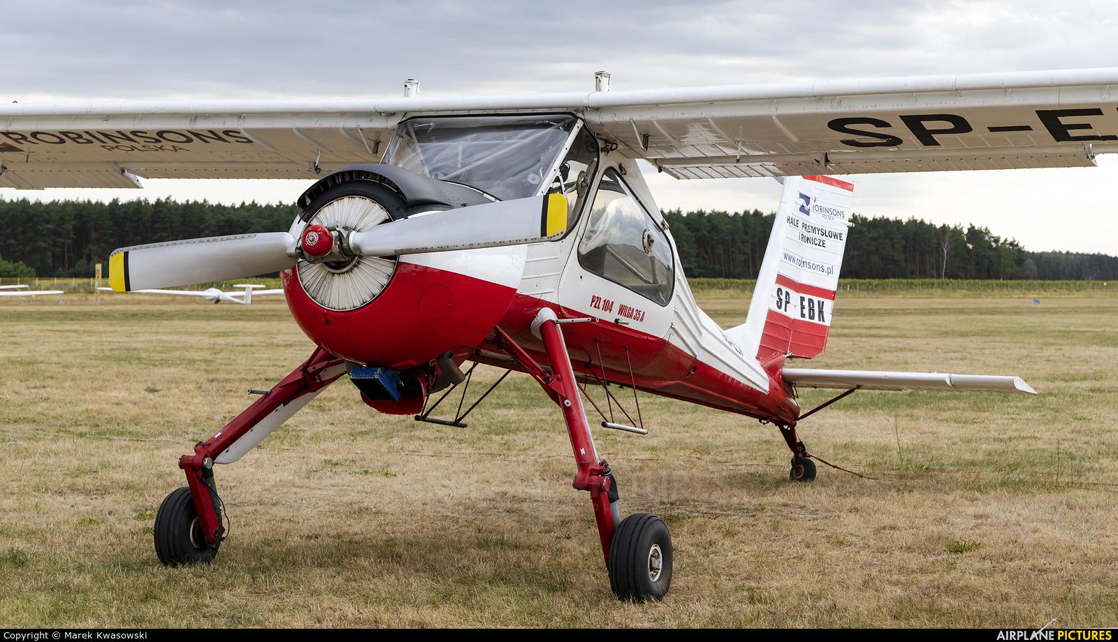 Aeroklub Polski SP-EBK aircraft at Leszno - Strzyżewice