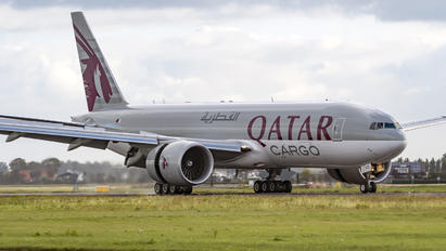 A7-BFO - Qatar Airways Cargo Boeing 777F