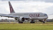 A7-BFO - Qatar Airways Cargo Boeing 777F aircraft