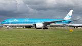 KLM Boeing 777-300ER PH-BVG at Amsterdam - Schiphol airport