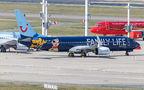 TUI Airlines Belgium Boeing 737-800 OO-JAF at Brussels - Zaventem airport