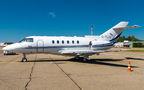 Private Hawker Beechcraft 800XP G-TLCL at Krasnodar airport