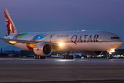 A7-BAX - Qatar Airways Boeing 777-300ER aircraft