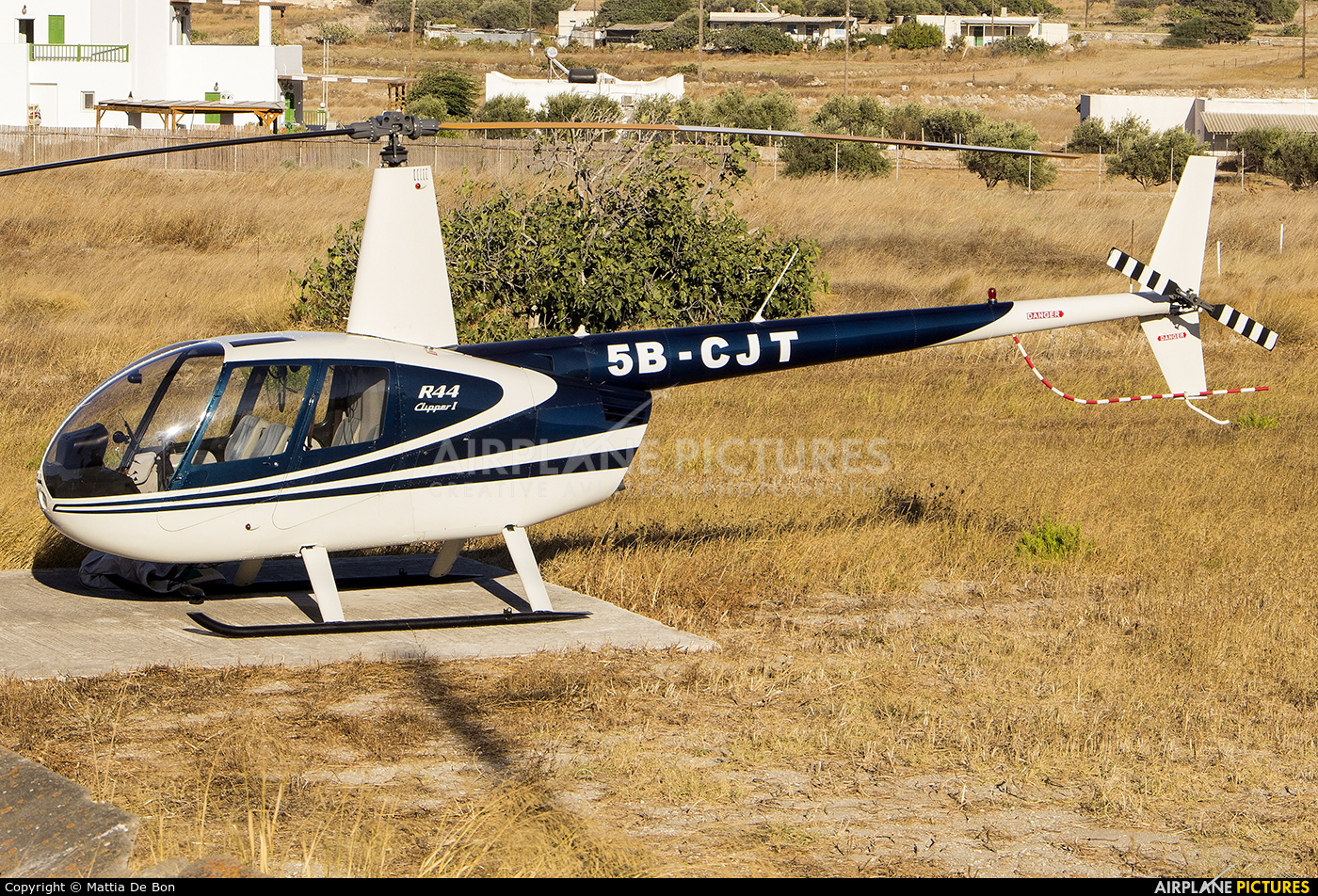 Private 5B-CJT aircraft at Off Airport - Greece