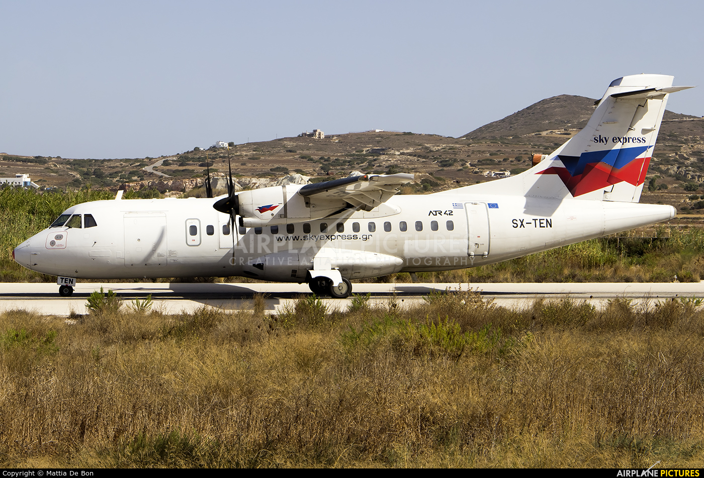 Sky Express SX-TEN aircraft at Off Airport - Greece