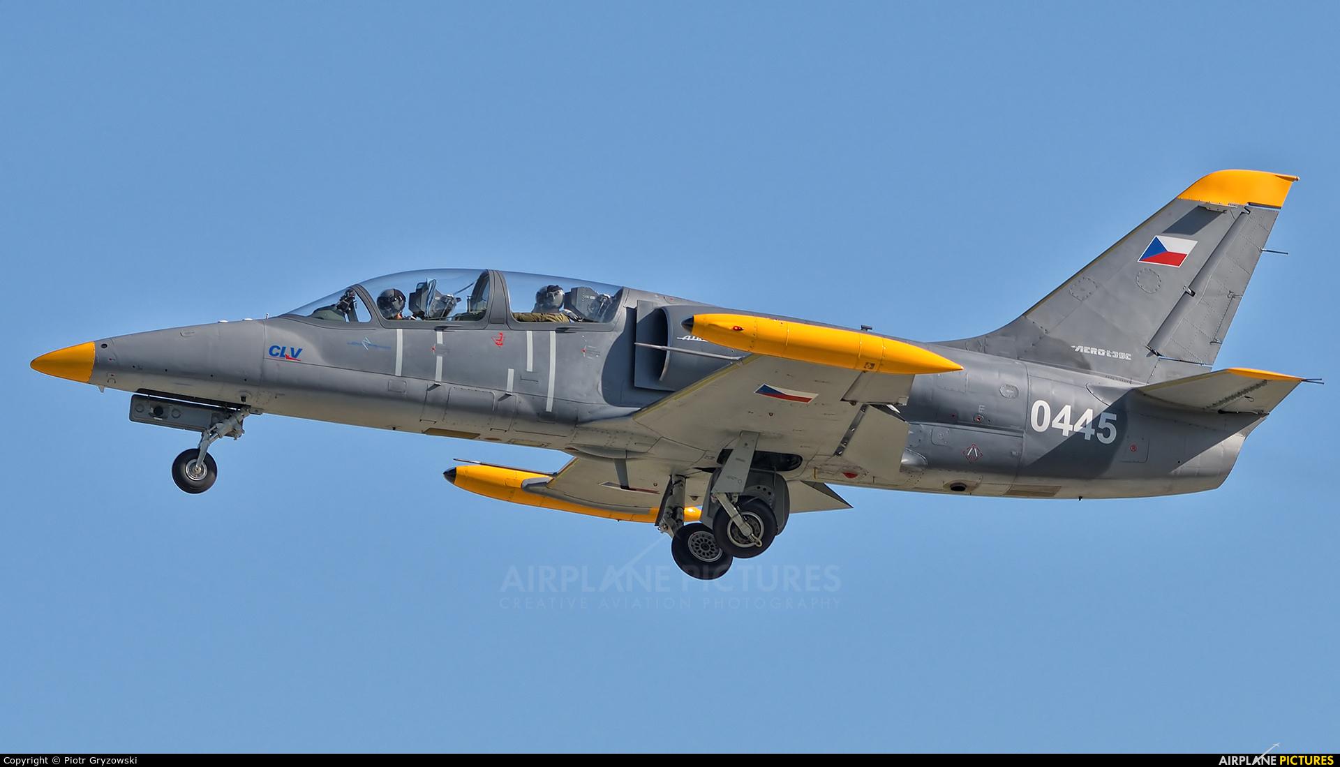 Czech - Air Force 0445 aircraft at Pardubice