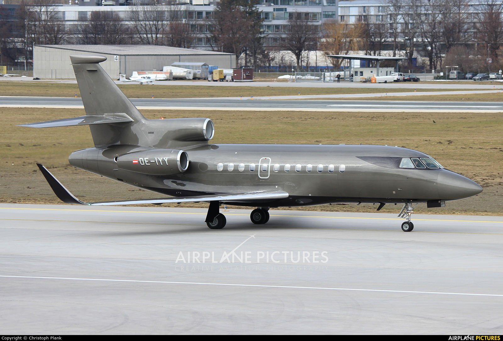 Salzburg Jet Aviation OE-IYY aircraft at Innsbruck