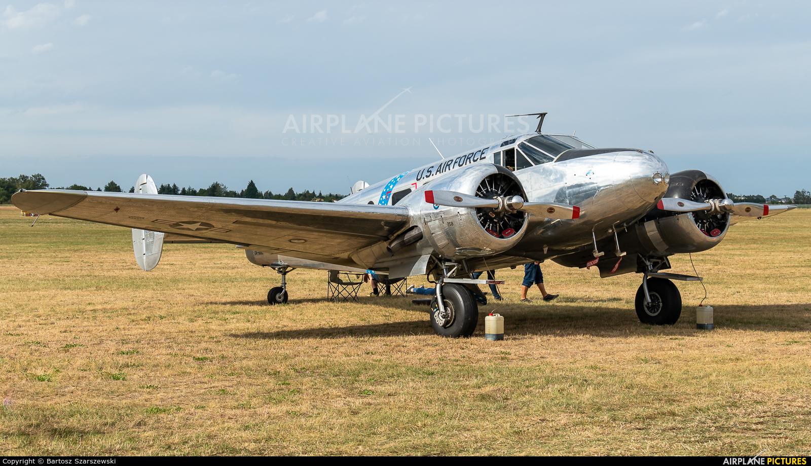 Private OK-BSC aircraft at Leszno - Strzyżewice