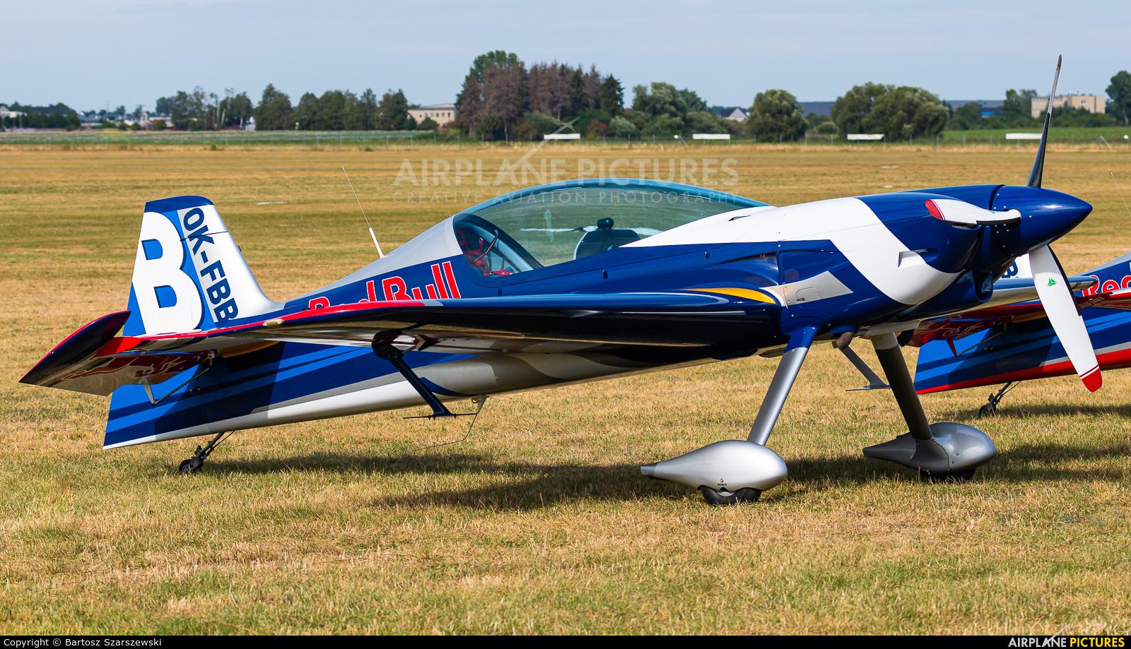 The Flying Bulls : Aerobatics Team OK-FBB aircraft at Leszno - Strzyżewice