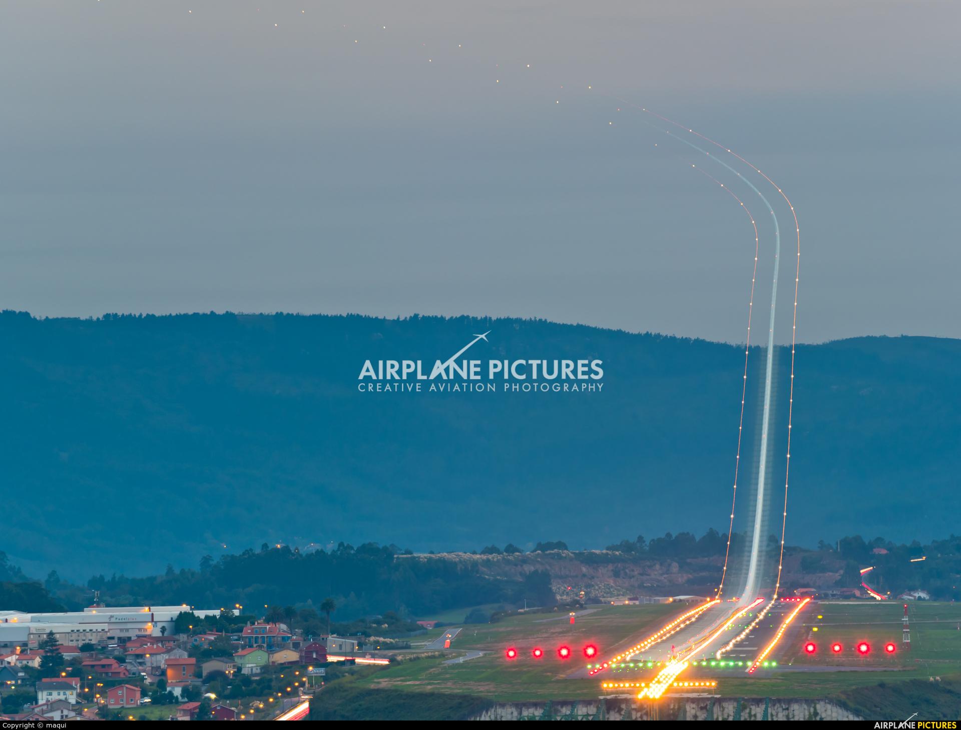 Air Europa Express EC-KXD aircraft at La Coruña