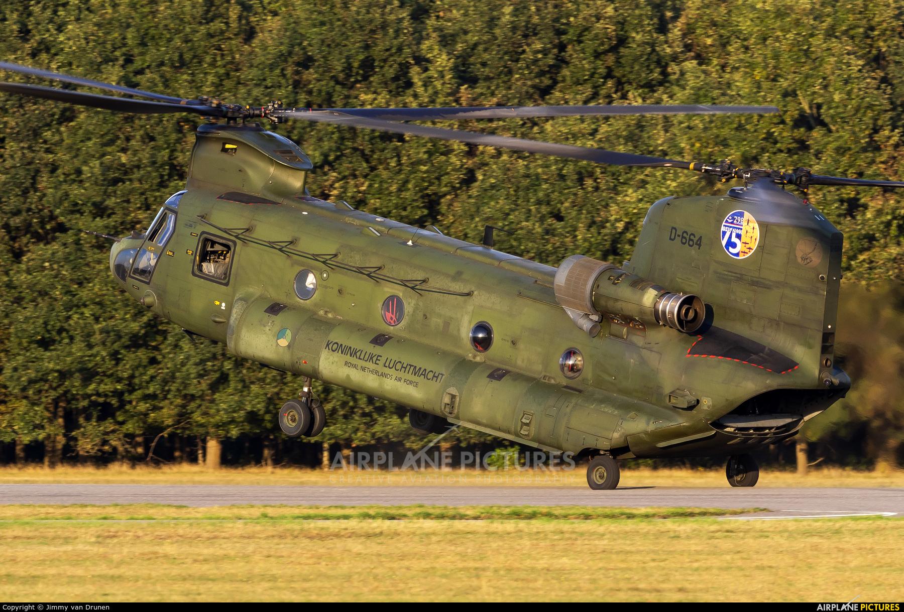 Netherlands - Air Force D-664 aircraft at Gilze-Rijen