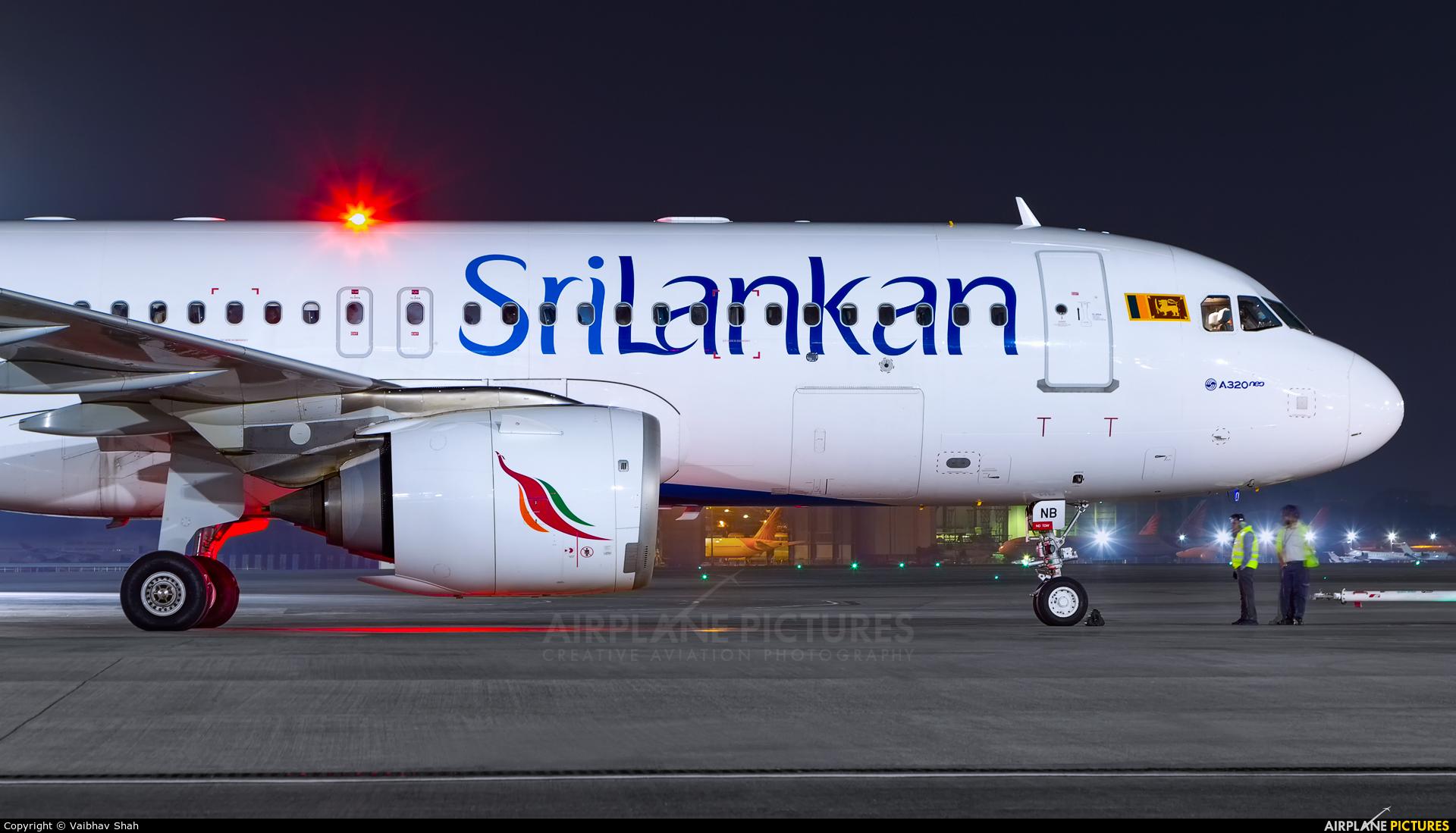 SriLankan Airlines 4R-ANB aircraft at Mumbai - Chhatrapati Shivaji Intl