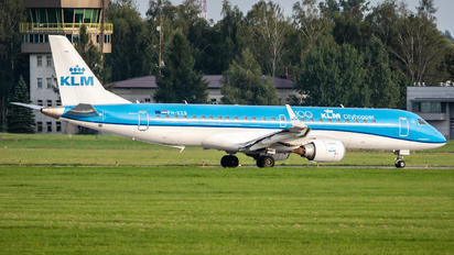 PH-EZB - KLM Cityhopper Embraer ERJ-190 (190-100)