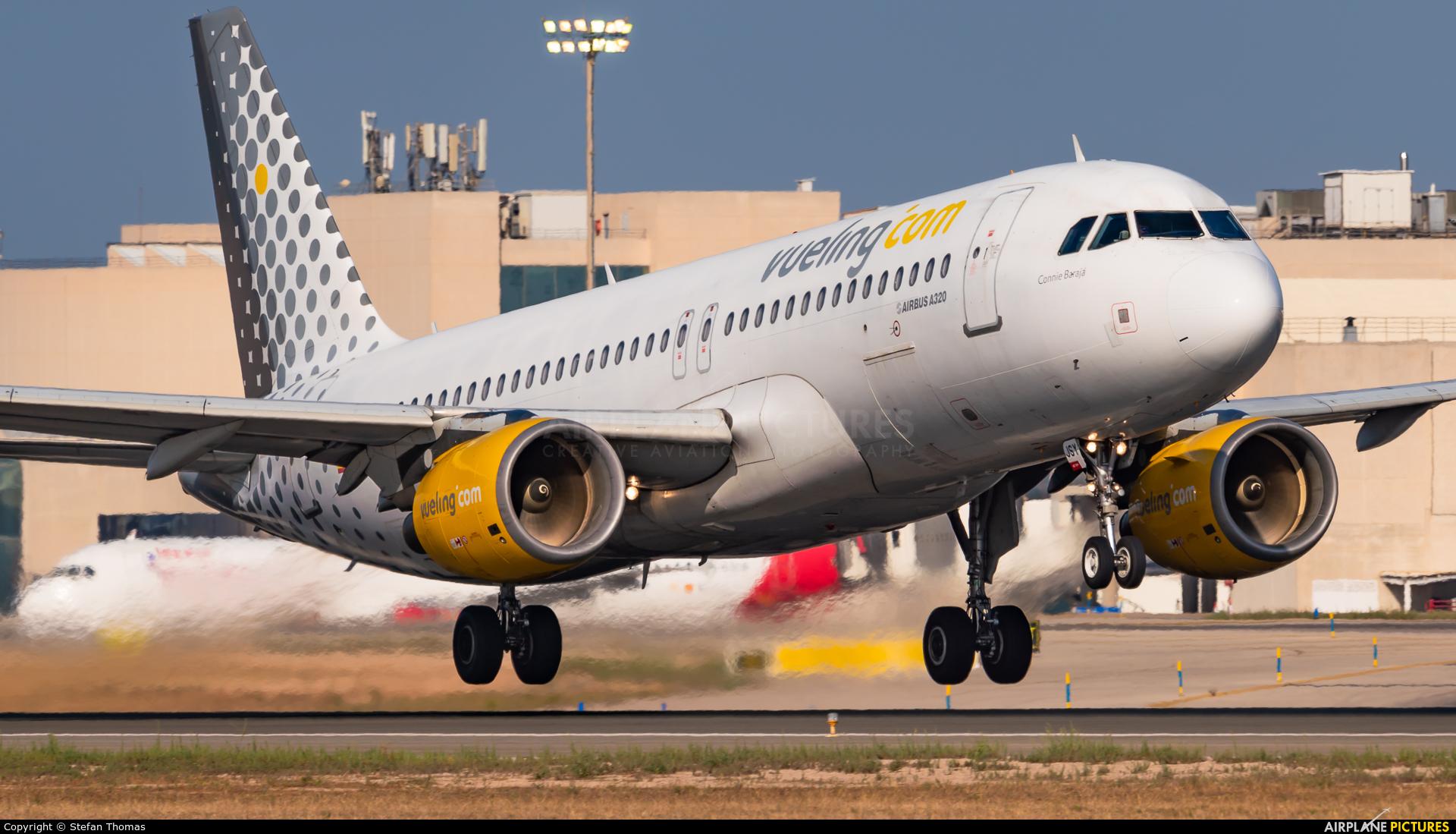 Vueling Airlines EC-JSY aircraft at Palma de Mallorca