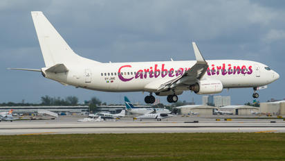 9Y-JME - Caribbean Airlines  Boeing 737-800