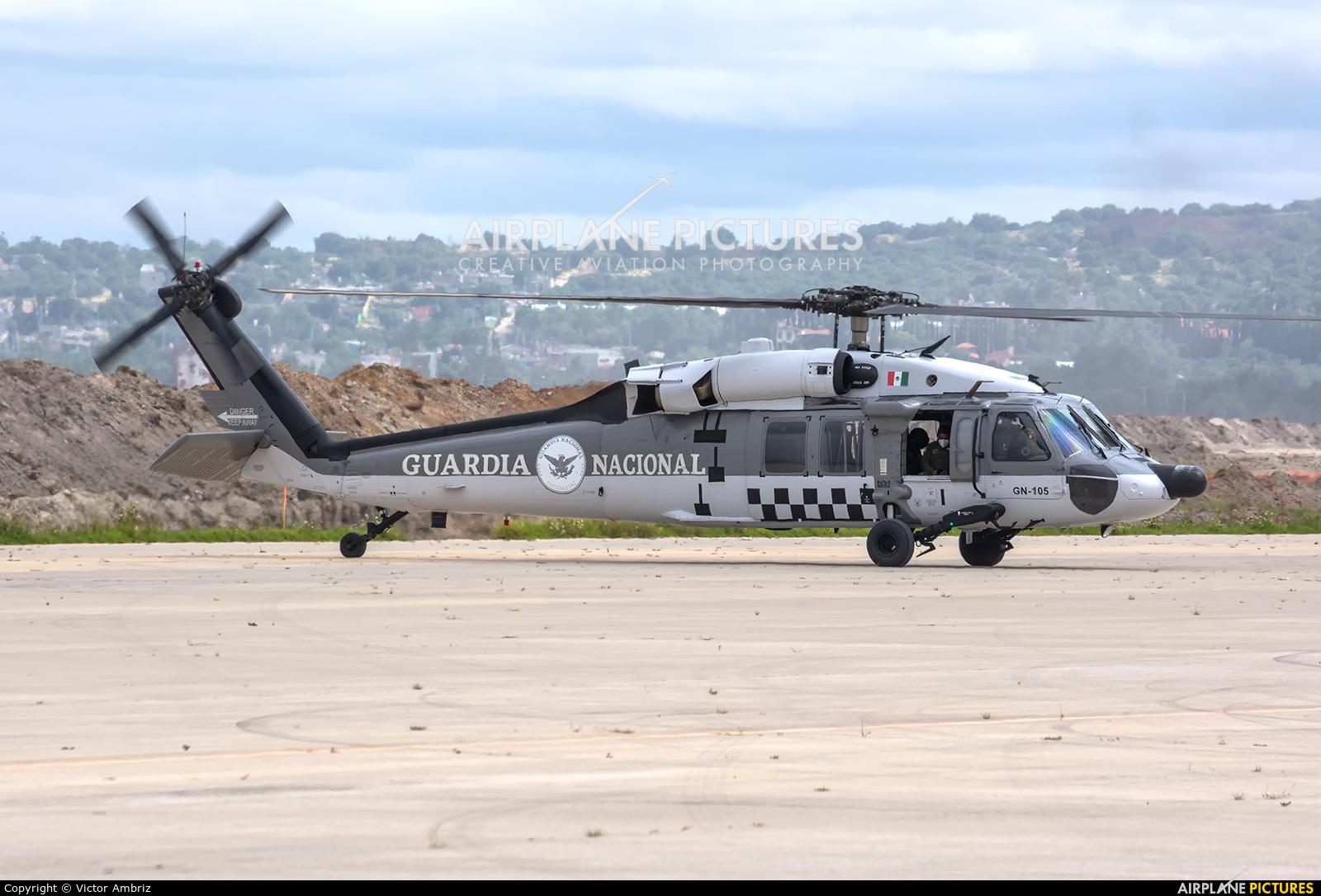 Guardia Nacional GN-105 aircraft at Santa Lucia AB