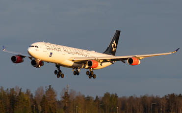 OY-KBM - SAS - Scandinavian Airlines Airbus A340-300
