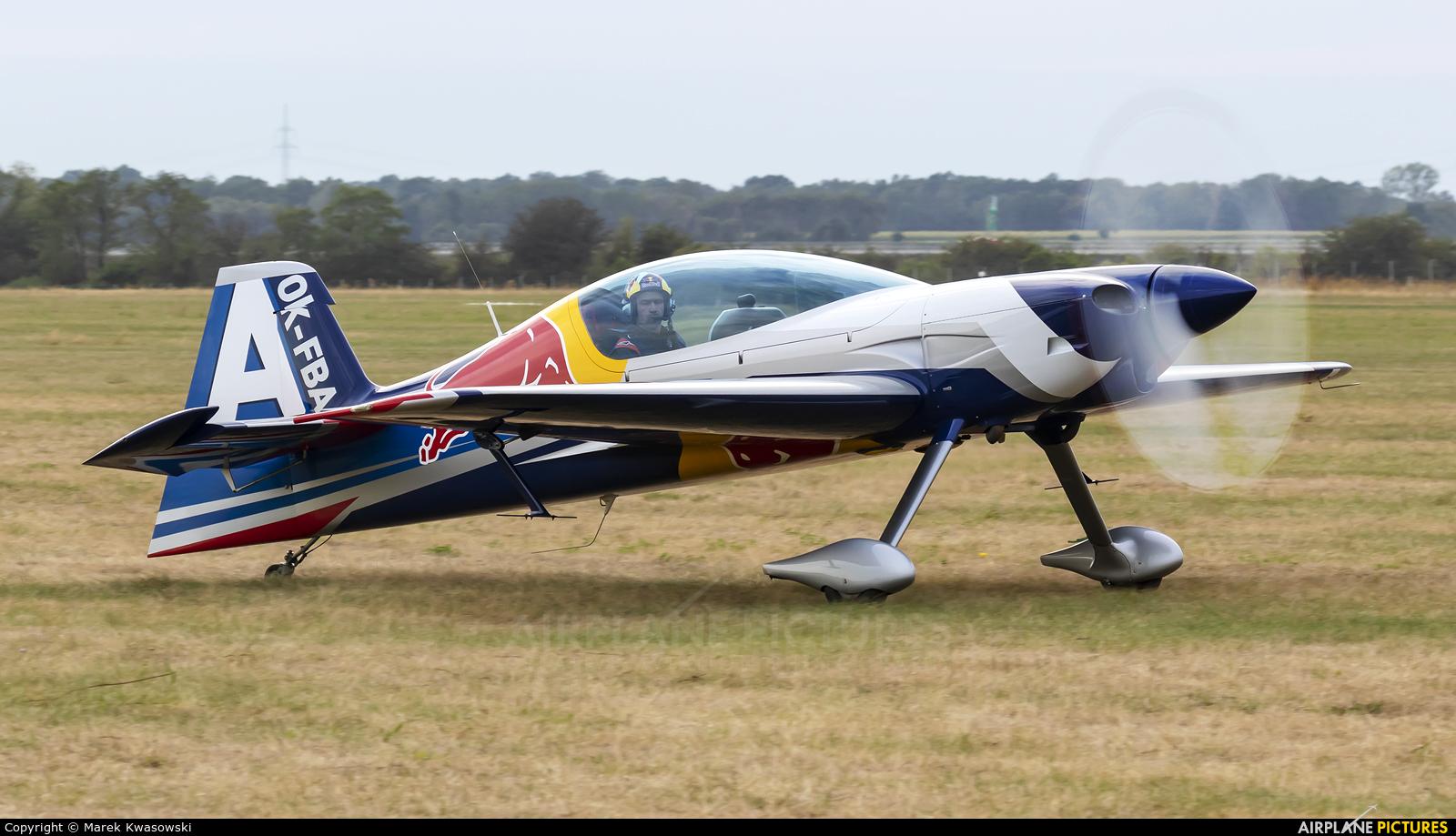 The Flying Bulls : Aerobatics Team OK-FBA aircraft at Leszno - Strzyżewice