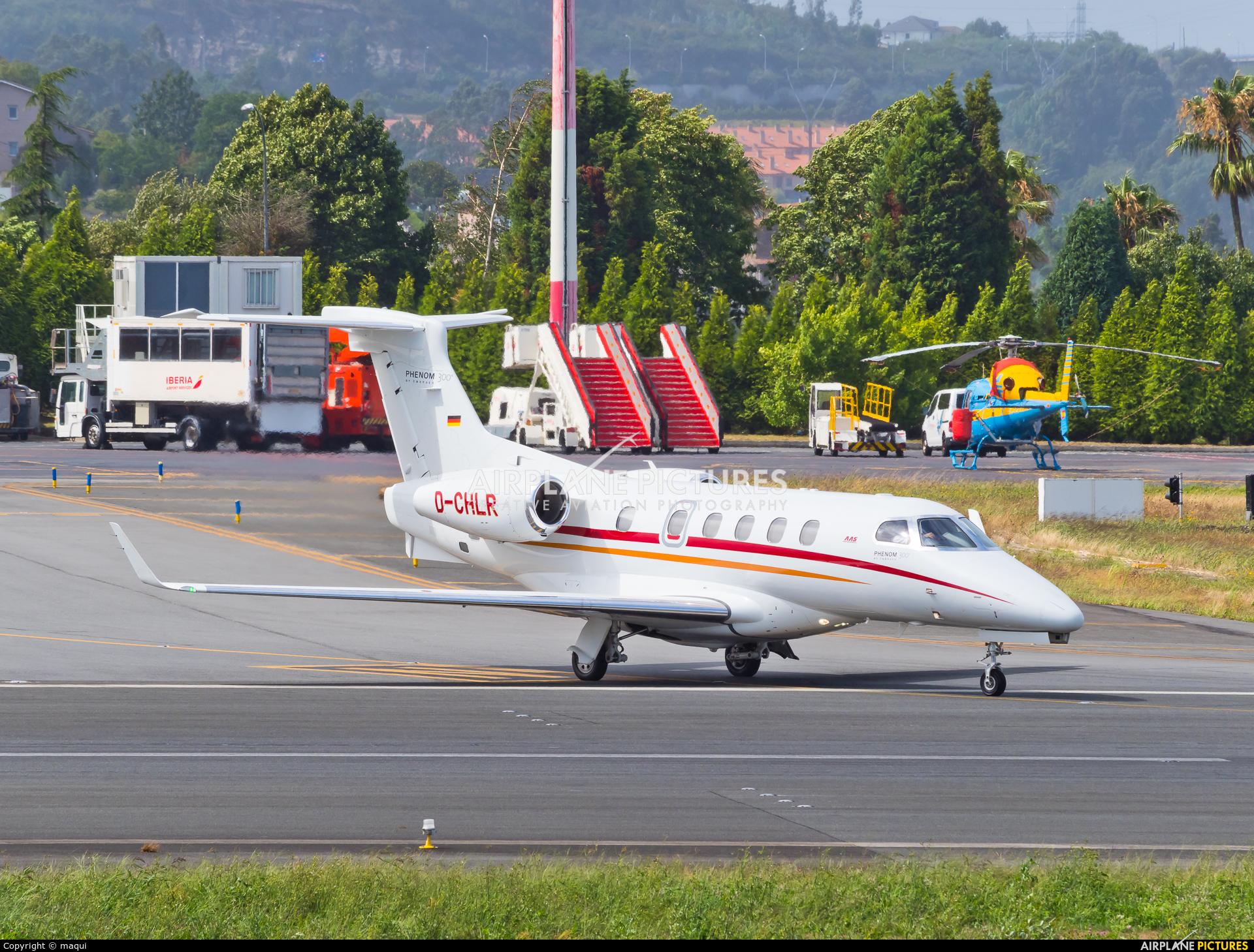 Atlas Air Serice D-CHLR aircraft at La Coruña