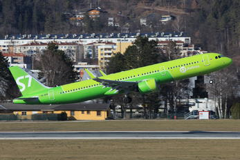 VQ-BGR - S7 Airlines Airbus A321 NEO