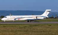 Tchad Government MD-87 visited Basel title=