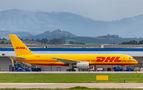 DHL Cargo Boeing 757-200 G-DHKK at Ostrava Mošnov airport