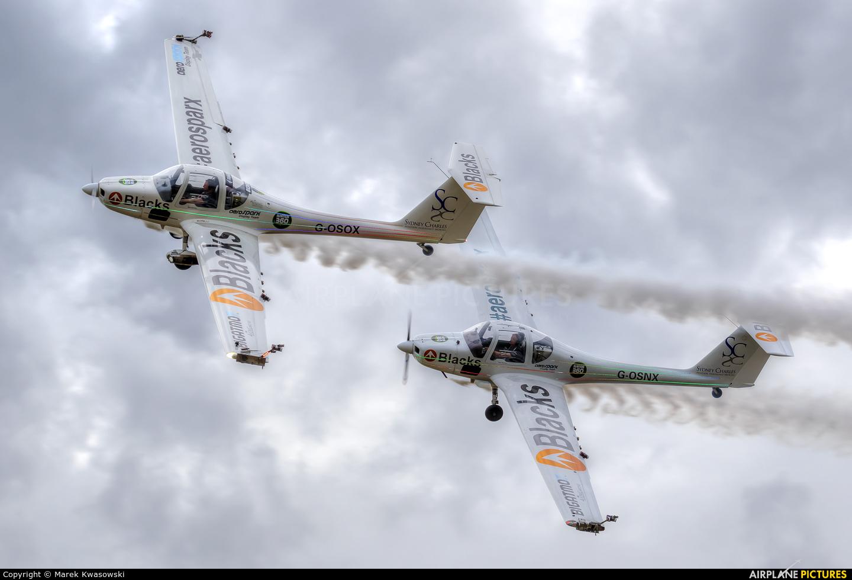 Aerosparx Display Team G-OSOX aircraft at Leszno - Strzyżewice