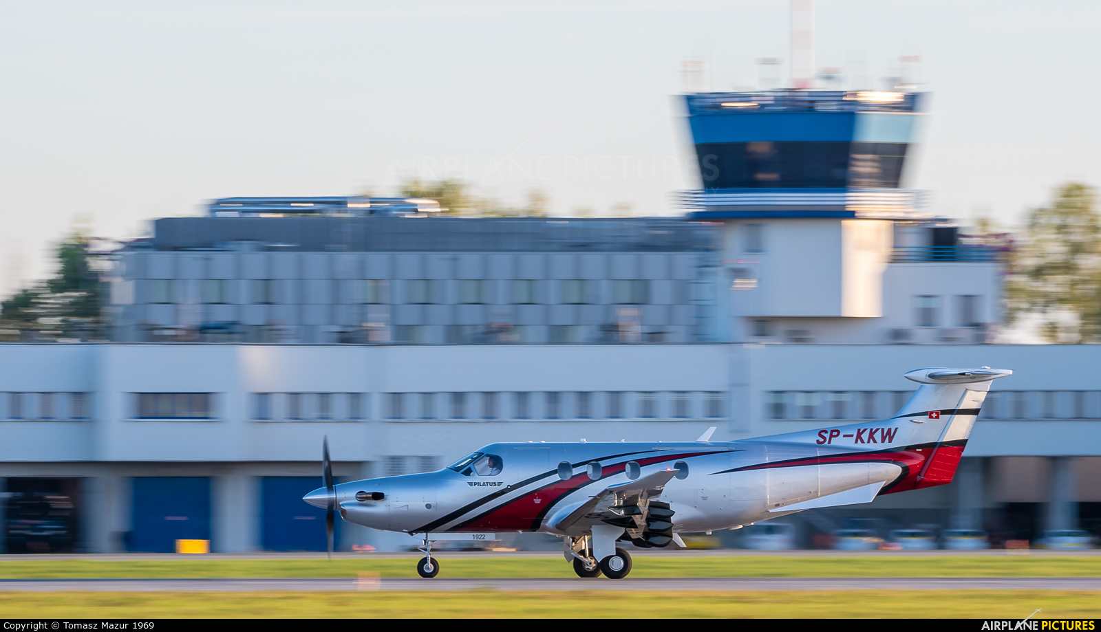 Private SP-KKW aircraft at Katowice - Pyrzowice