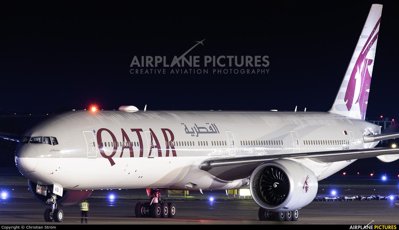 Qatar Airways A7-BAS aircraft at Helsinki - Vantaa