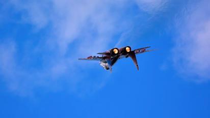 "RF-91933 - Russia - Air Force ""Strizhi"" Mikoyan-Gurevich MiG-29UB"