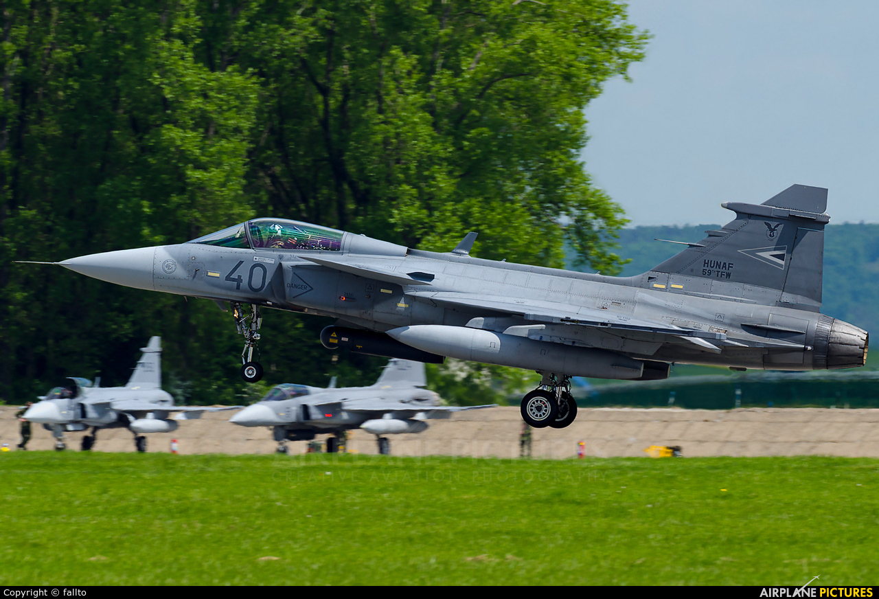 Hungary - Air Force 40 aircraft at Čáslav