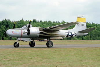 N167B - Scandinavian Historic Flight Douglas A-26 Invader