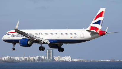 G-NEOT - British Airways Airbus A321 NEO