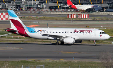 D-AEUE - Eurowings Airbus A320