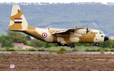 SU-BAR - Egypt - Air Force Lockheed AC-130H Hercules