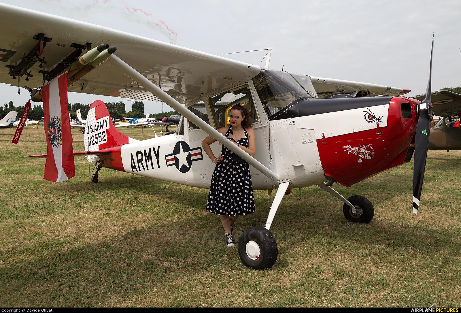 Private N33455 aircraft at Montagnana