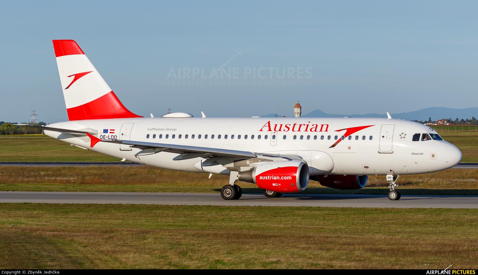 Austrian Airlines/Arrows/Tyrolean OE-LDD aircraft at Vienna - Schwechat