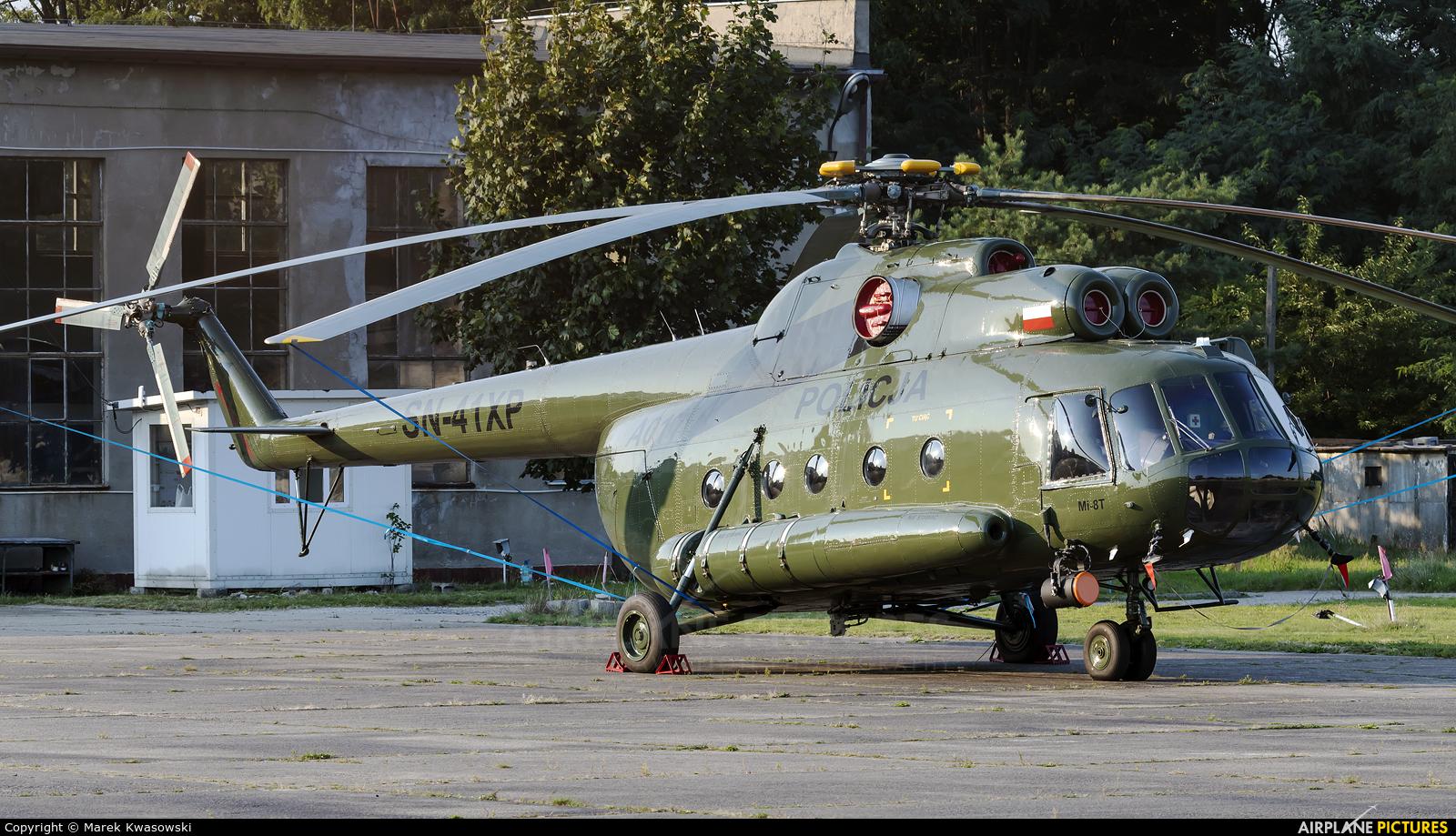 Poland - Police SN-41XP aircraft at Warsaw - Babice