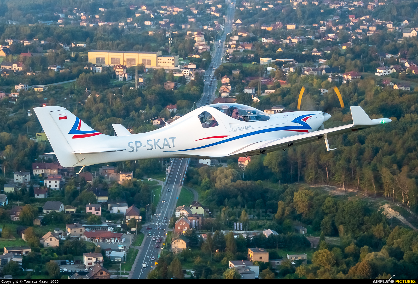 Private SP-SKAT aircraft at Off Airport - Poland