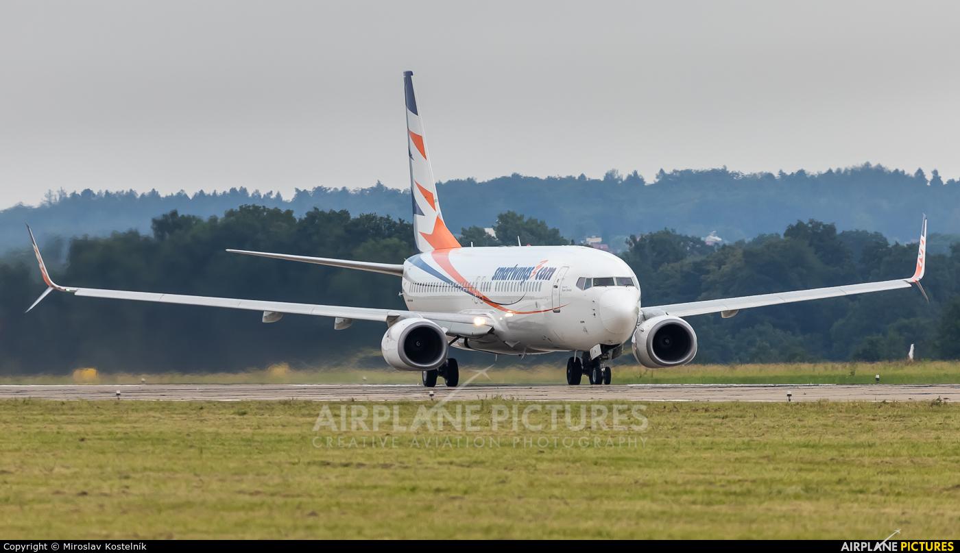 SmartWings OK-TVV aircraft at Ostrava Mošnov
