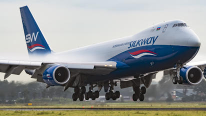 VQ-BVC - Silk Way Airlines Boeing 747-8F