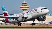 D-AEWM - Eurowings Airbus A320 aircraft