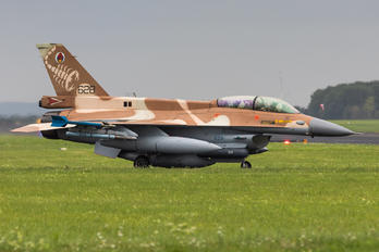 628 - Israel - Defence Force General Dynamics F-16D Barak