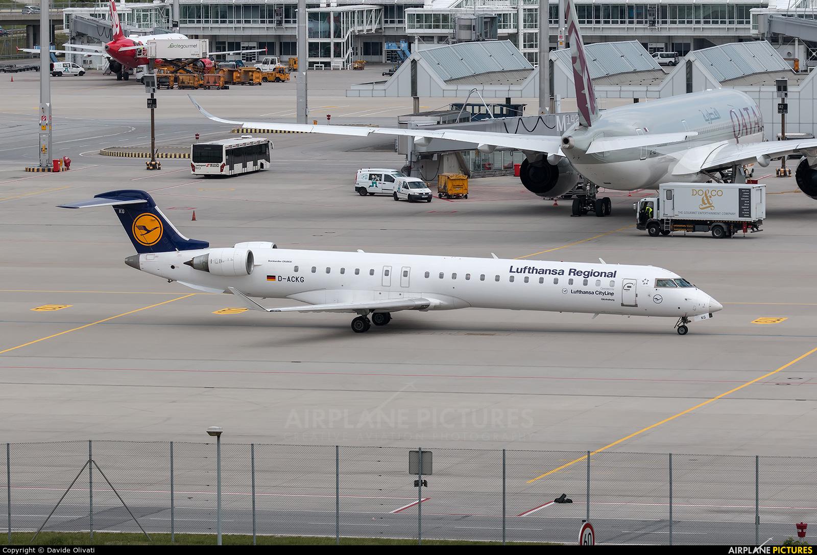 Lufthansa Regional - CityLine D-ACKG aircraft at Munich