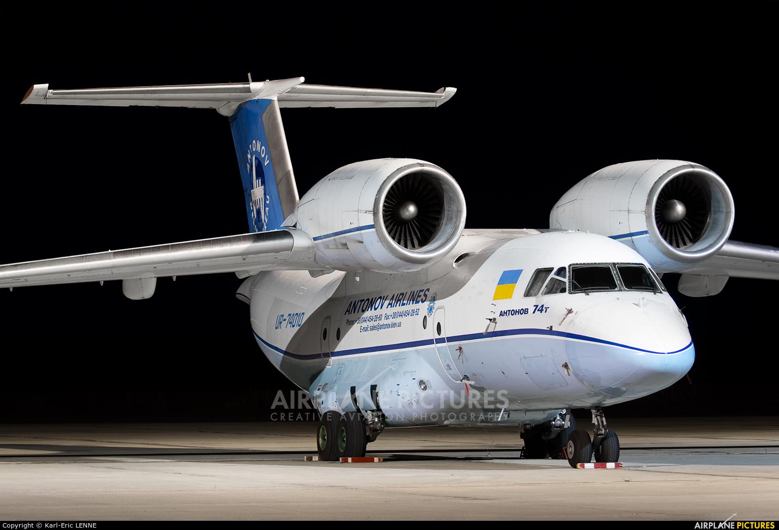 Antonov Airlines /  Design Bureau UR-74010 aircraft at Chalons Vatry Airport